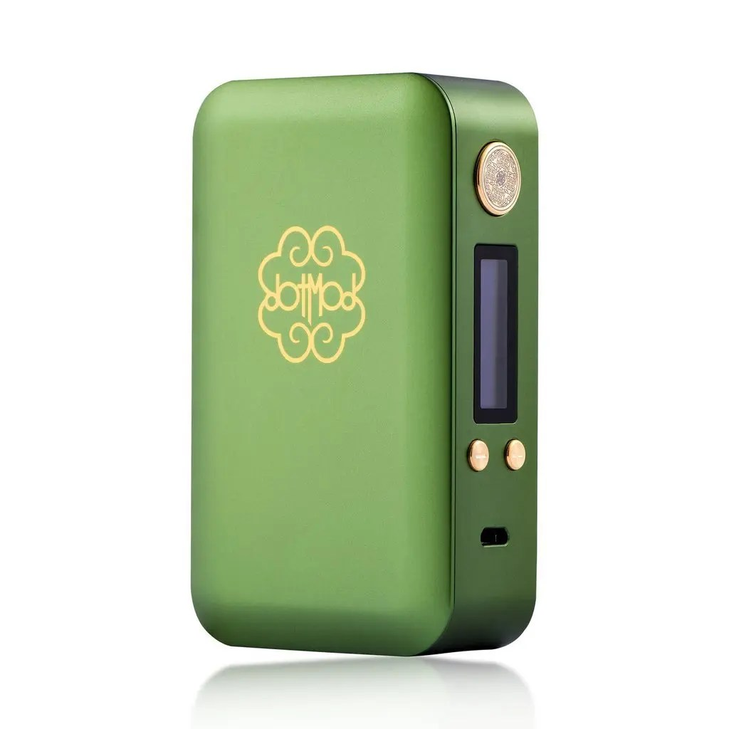 dotMod dotBox 200W Regulated Box Mod - Green