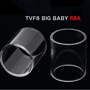 SMOK TFV8 Big Baby RBA Replacement Glass Tube