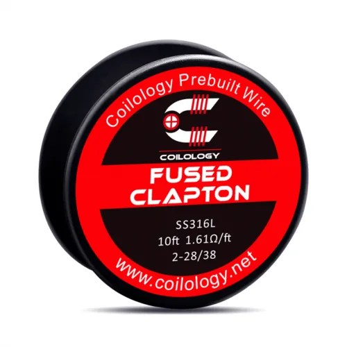 Coilology Fused Clapton Spool Wires