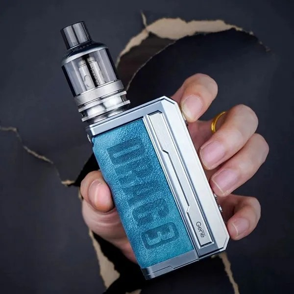 Voopoo Drag 3 177W Starter Kit with 5.5ml TPP Tank - Prussian Blue