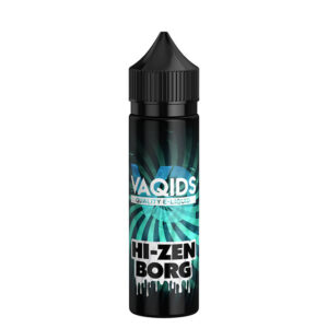 Vaqids Hi Zen Borg 50ml Eliquid Shortfill Bottle New Label