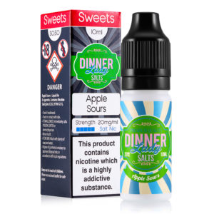 Apple Sours Nic Salts 50:50 10ml E-Liquid