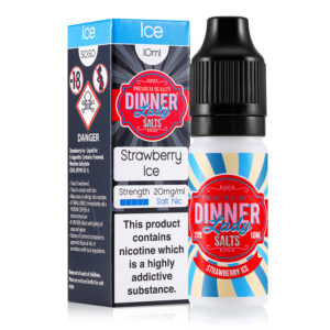 Strawberry Ice Nic Salts 50:50 10ml E-Liquid