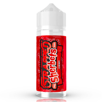 Cherry Sherbet By Strapped 100ml Shortfill