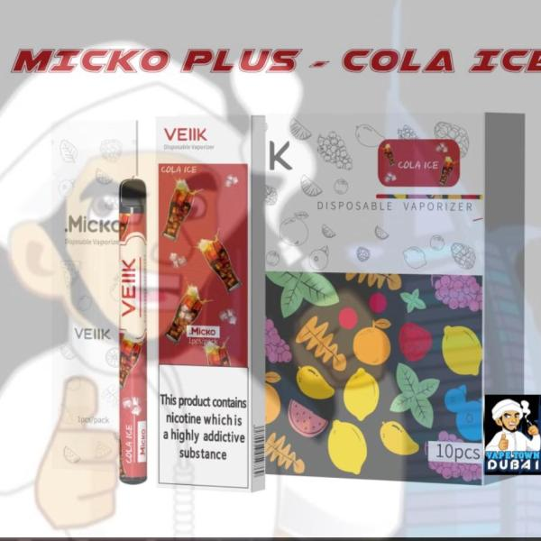Buy Micko Plus Cola ICE disposable vaporizer by veiik