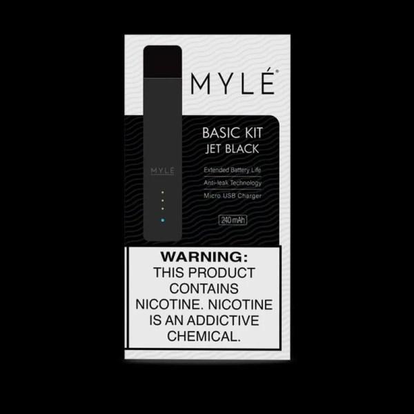 Myle device V4 version Jet Black colour