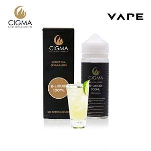 Cigma 100ml Soda citron 0mg E-liquide | Bouteilles Shortfill sans nicotine | 50/50 PG/VG – Forte saveurs réelles | Eliquide Pour E-shisha et E-cigarettes