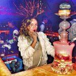 XZYP Narguilé Moderne Arabe De Haute Qualité, Narguilé avec Lumières LED Narguilé Narguilé Shisha Narguilé, Kit De 1 Tuyau De Narguilé,2hose
