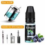 E-Liquide Pour Cigarette Electronique 70VG/30PG Liquide Cigarettes Electronique sans Nicotine 12 * 10ml Nouveau Gout Cigarette Electroniquede Fruits
