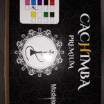 Chicha Premium, chicha de 2 sorties, narguilé de 55 cm de hauteur, JSG.HOOKAH 2 tuyaux, 1 pince à épiler, chicha, hookah pipe à eau, couleur rose … (noir)