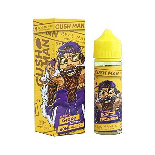 Cush Homme Nasty Juice Sortiment E-Liquide 30PG/70VG 50ml 0mg Bas Menthe Sans Nicotine Ni Tabac