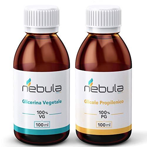 KIT BASE NEUTRA 200 ML – GLICOLE PROPILENIQUE + Glycérine végétale 50VG/50PG