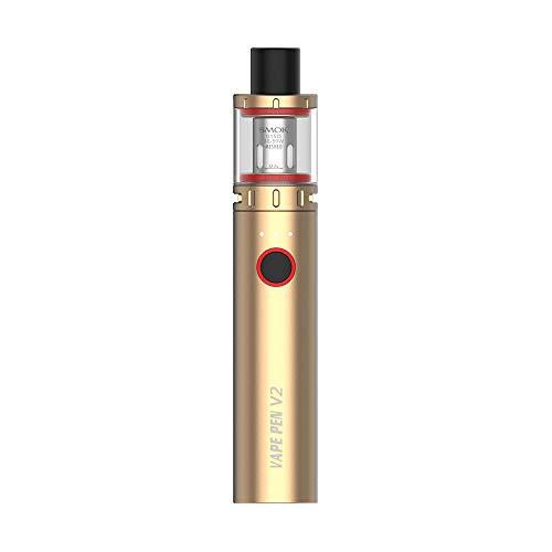 Kit original SMOK Vape Pen 22 (or) avec batterie 1650mAh / réservoir d'atomiseur 2 ml/tête de bobine double fil 0.3Ω, sans nicotine