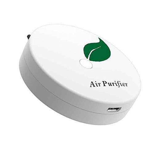 «N/A» Lot de 2 purificateurs d'air portatifs USB – Mini collier à ions négatifs – Sans rayonnement, faible bruit