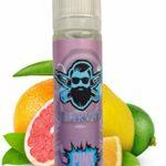 E liquide saveur Pinkman ELIKVAP pink de 50ml en 0mg – goût aux multiples saveurs fruitées, dominées par les agrumes – produit sans nicotine sans tabac.
