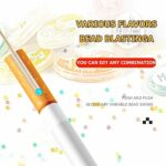 EAsTCHem Menthol Lot de 1000 capsules pour cigarettes aromatiques – – Goût fraise-menthe,