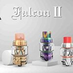 Vitavap' – Clearomiseur Falcon 2 Horizontech Version 5,2 Ml – NOIR – Sans tabac ni nicotine