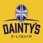 E-Liquid BLUEBERRY BLACKCURRANT MENTHOL DAINTYS | 80ML TPD | ECO VAPE | Sans Nicotine NI TABAC | E-Liquide pour Cigarettes Electroniques – E Vaper Liquids 50VG/50PG