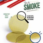 Up in Smoke Pipe Screens 3/8″ laiton filtre paquet de 50