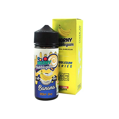 Banana Bubblegum Horny Flava 100ml 00mg