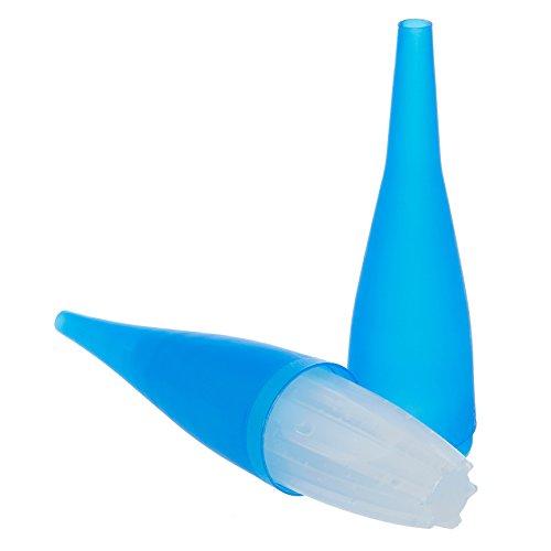 AO hookah accessories AO ICE Bazooka 2.0 | Embout glacé avec bloc réfrigérant | à visser | Refroidissement de la fumée de chicha – bleu