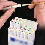 Warring States 1000 pièces DIY Cigarette Pops Perles Saveur De Fruits Menthe Saveur Mentha Porte-Cigarettes Porte-Saveur Filtre Accessoires Fumer