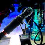 DrafTor Embout de chicha en silicone Drip Tip avec cordon pour pipe à eau Hookah, réutilisable, sans nicotine 15 vert