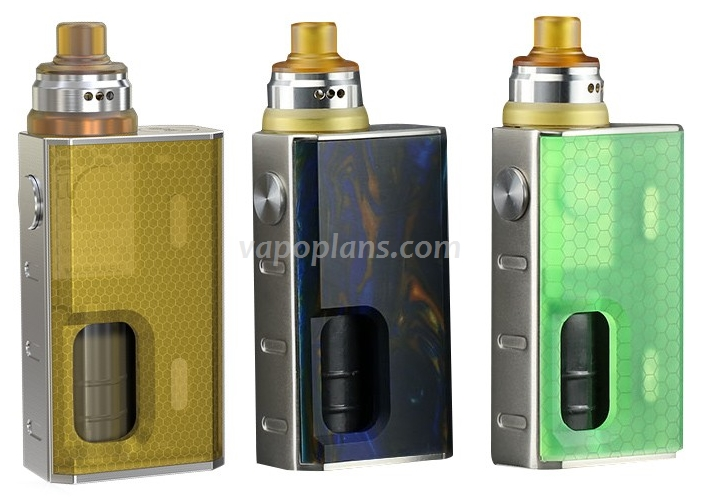 Box / Kit BF 100w Wismec Luxotic - 23,60€ / 34,90€ fdp in