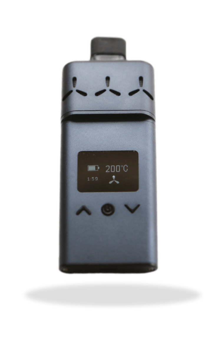 A PNG Image of Airvape XS Vaporizer by Vaporizerblog.com