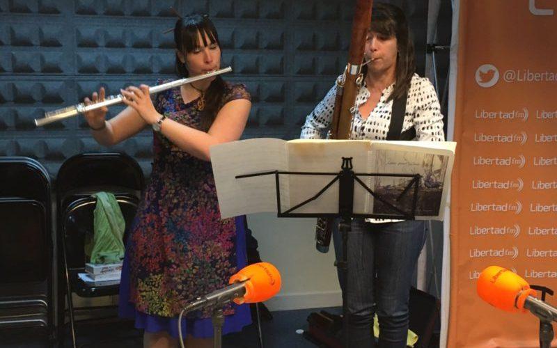 Dúo Almira, música de flauta y fagot