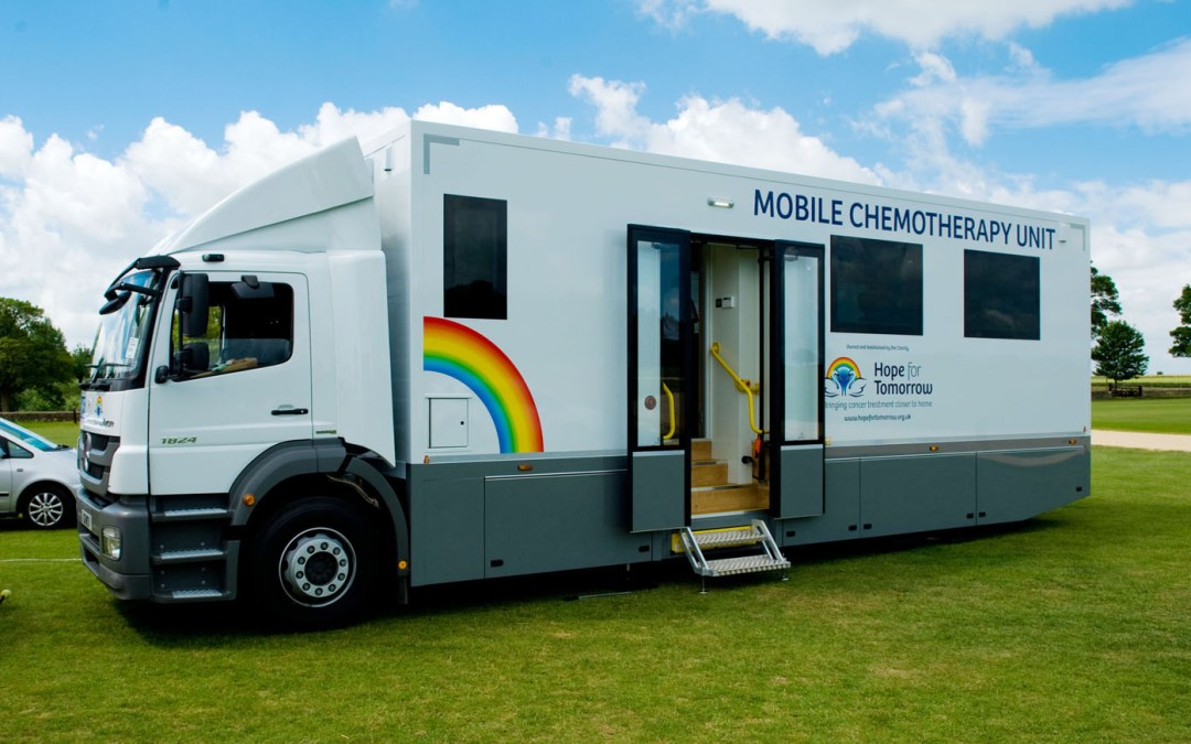 Vapor Ricon Provides Access For Mobile Chemotherapy Units