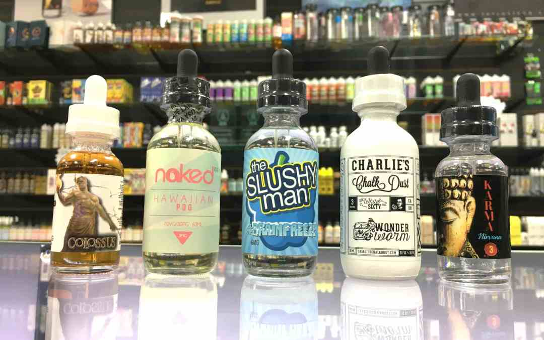 The Top 5 Most Popular Vape Juice Flavors