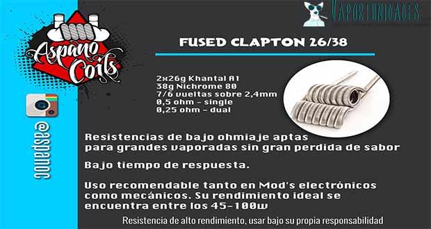Fused-clapton