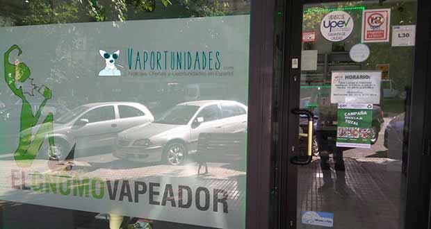tienda fisica El Gnomo Vapeador