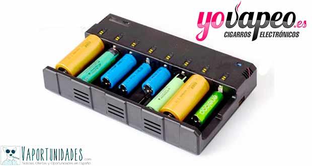 Baterías y cargadores - Lo necesario en YoVapeo.es