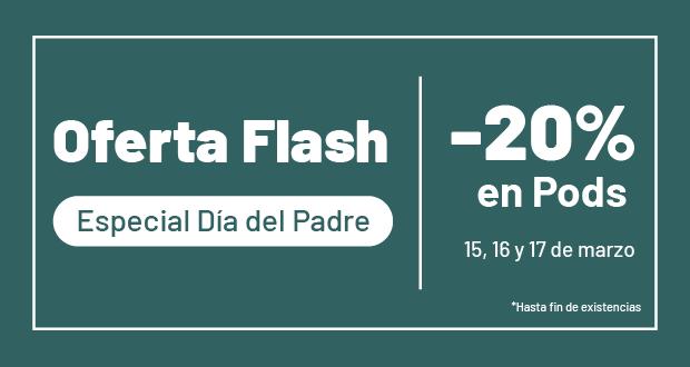 Oferta Flash - Y día del padre en YoNoFumoYoVapeo
