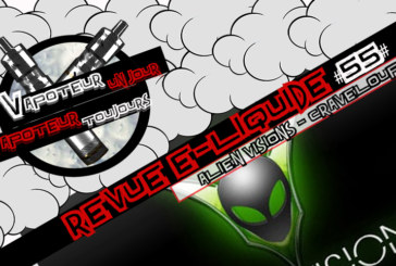 E-Liquid Review - Craveloupe - Alien Visions - USA - #55