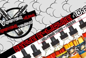 E-Liquid Review - Mr. Good Vape - Часть 2 - US - #104b