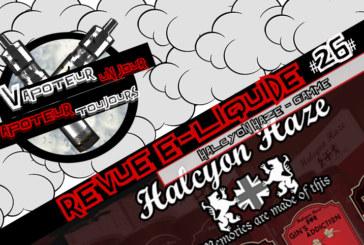 E-Liquid Review - Halcyon Haze Диапазон от T-Juice - UK - #26
