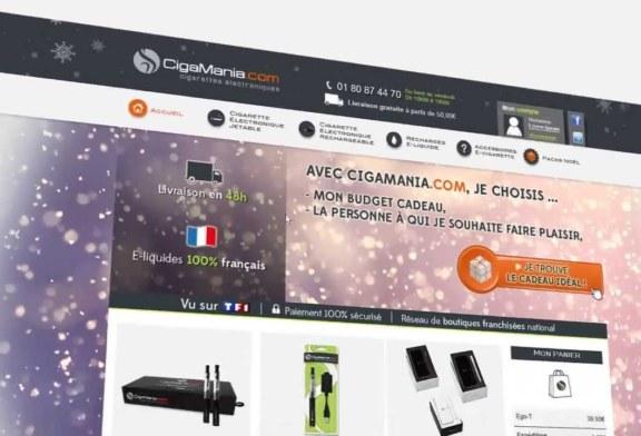 Publicité officielle – Cigamania – (France)