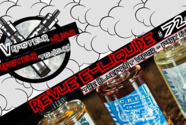 Revue E-Liquide – The Blueprint Vapor de Park Avenue – USA – #72