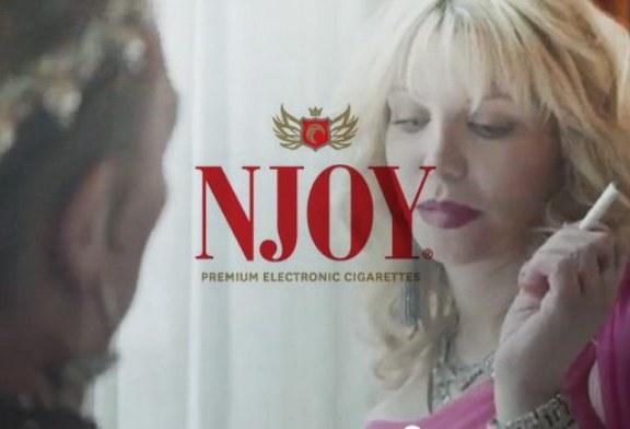 Publicité officielle – Njoy – avec Courtney Love (USA)