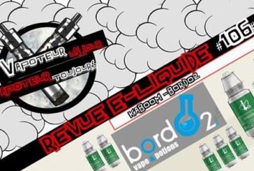 E-υγρό αναθεώρηση - Kaboom - Bordo2 - EN- # 106
