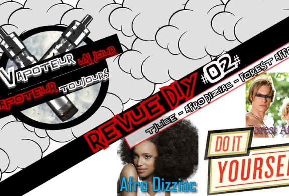 La Revue DIY #2 – AFRO DIZZIAC / FOREST AFFAIR – T-JUICE (UK)