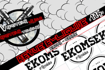 E-Liquid Review #114 - EKOMS (IT)