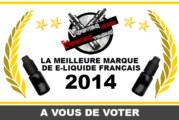 VOTE: המותג הטוב ביותר של E-LILQUID FRENCH 2014
