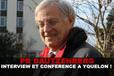 Pr Dautzenberg: Interview and Conference in Yquelon!