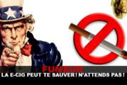 Курильщик, электронная сигарета может спасти вас! Не жди!