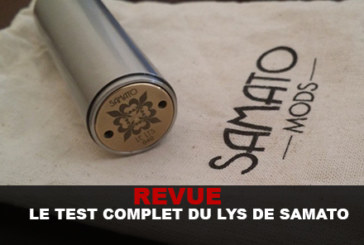 REVIEW: THE COMPLETE LILY TEST BY SAMATO