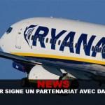 חדשות: Ryanair חותמת על שותפות עם Dansmoke